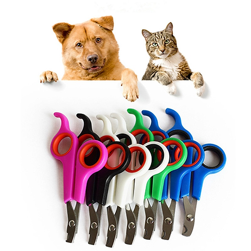 New Stainless Steel Pet Nail Clippers Dog Cat Rabbit Claw Toe Nail Clipper
