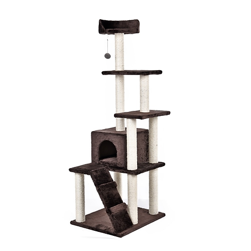 Domestic Delivery Cat Tree Wood Luxury Cat Toys Cat Bed Furniture&Scratchers Cat