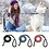 Thumbnail: Nylon Reflective Dog Leash Pet Training Leashes Safety 6ft Long Mountain