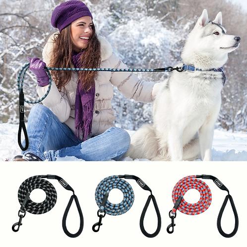 Nylon Reflective Dog Leash Pet Training Leashes Safety 6ft Long Mountain