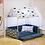 Thumbnail: Washable Home Shape Dog Bed + Tent Dog Kennel Pet Removable Cozy House For