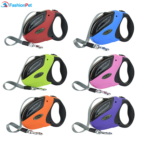 High Quality 5M 50KG Pet Retractable Leash ABS Large Medium Dog Automatic