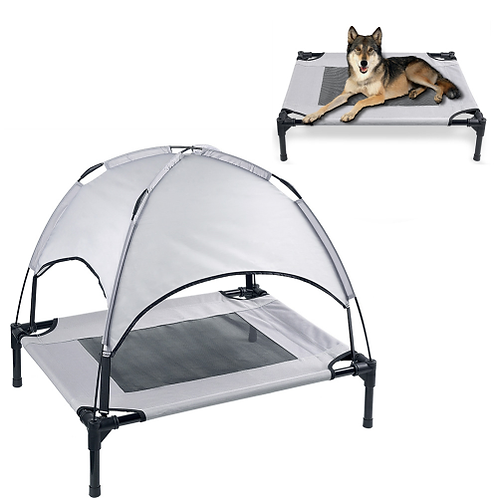 Petacc High quality Pet Bed Elevated Pets Beds Mesh Pad Dog House for Pets