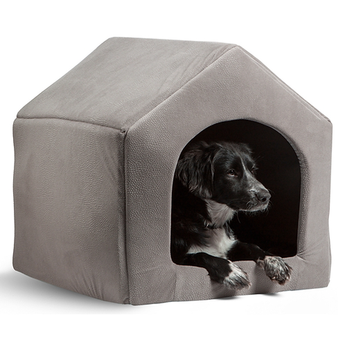 High Quality Pet Products Luxury Dog House Cozy Dog Bed Puppy Kennel 5 Color Pet
