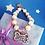 Thumbnail: Pet Ornaments Dog Cat Alloy Necklace Rhinestone Bone Pendant Dog Cat Pearl Neckl