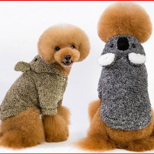 velvet dog coat jackets