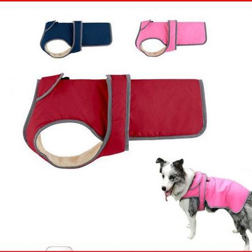 Dog Clothing Lapel Pet Dog Jacket Reflective S-XXL