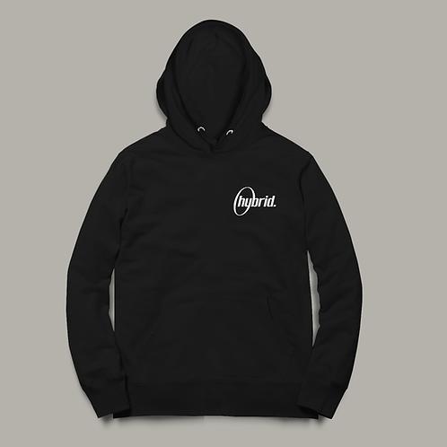 Unisex Hybrid Hoodie - Embroidered Logo