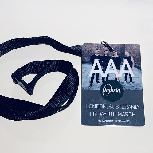 Hybrid Live Laminates - Backstage @ Subterania - Friday 8th March 2019