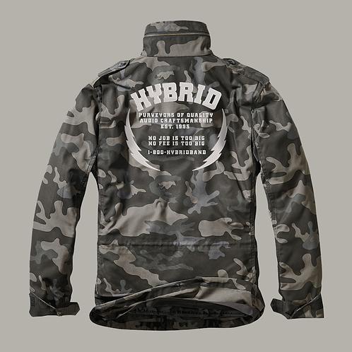 Hybrid M65 Jacket  (Embroidered) - Dark Camo