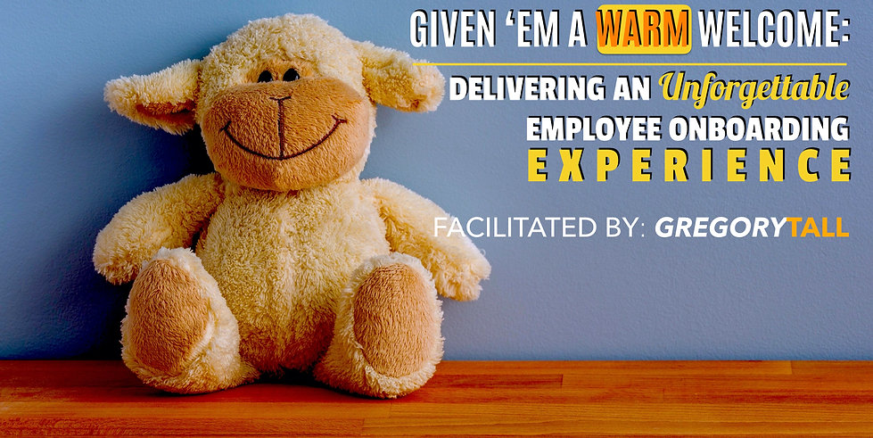 Employee Onboarding - Gregory Tall Compa