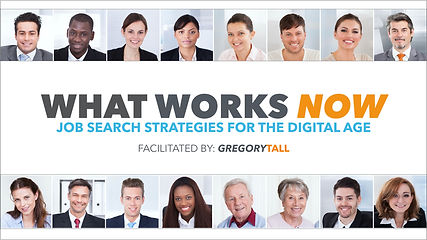 Job Search Strategy - Gregory Tall Compa