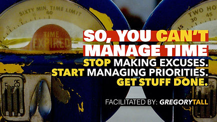 Time Management - Gregory Tall Company.0