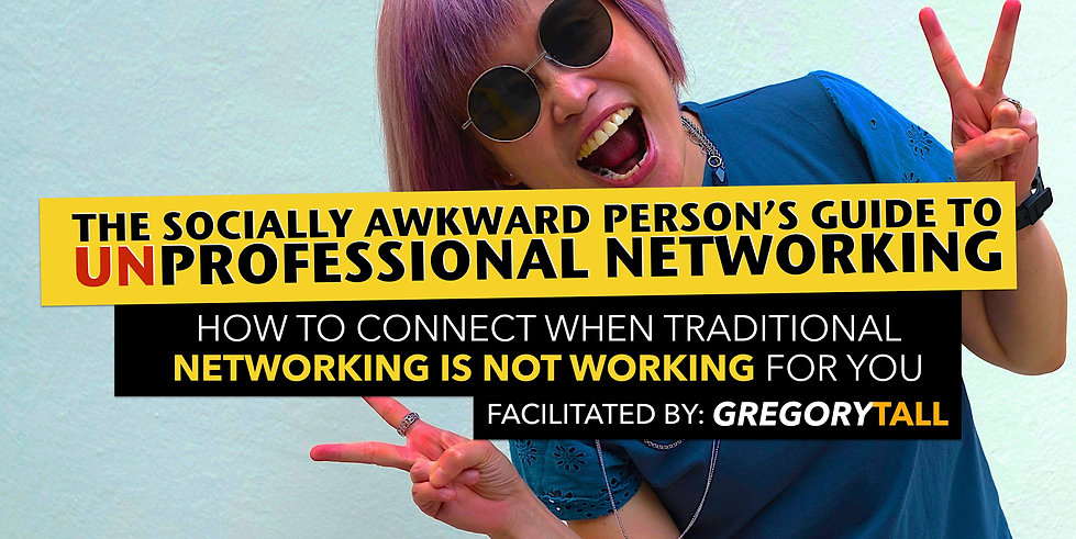 Professional Networking - Gregory Tall C