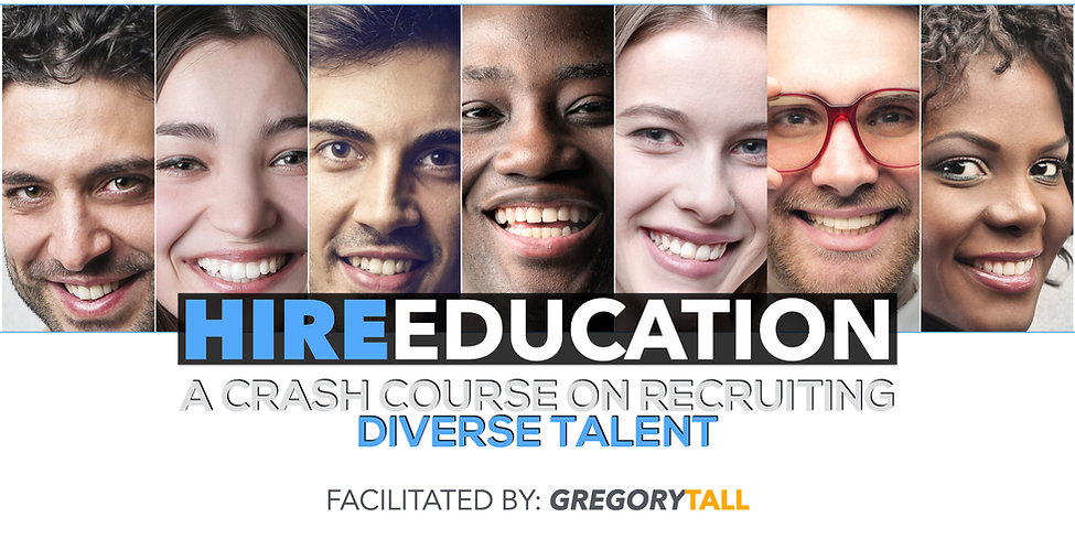Diversity Recruiting - Gregory Tall Comp