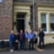 Clare Wandless, Judith Thew, Ian Lodge, Terry Payne, Ken Graham, Gordon Myers.