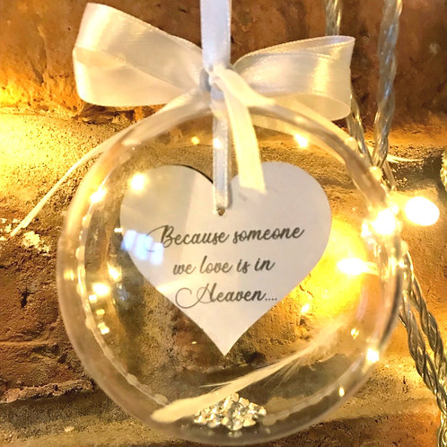 Heaven in our Home - Memorial Bauble