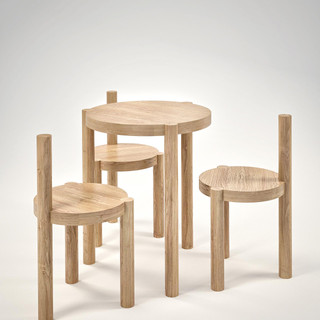 Furniture-Circles01_Low-table-and-chairs