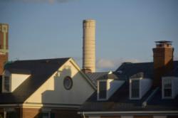 Roof Tops From My Studio, Cherie Redlinger
