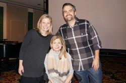 Nicole, Katherine, and Jay Wolf