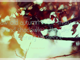 LESSONS FROM AUTUMN