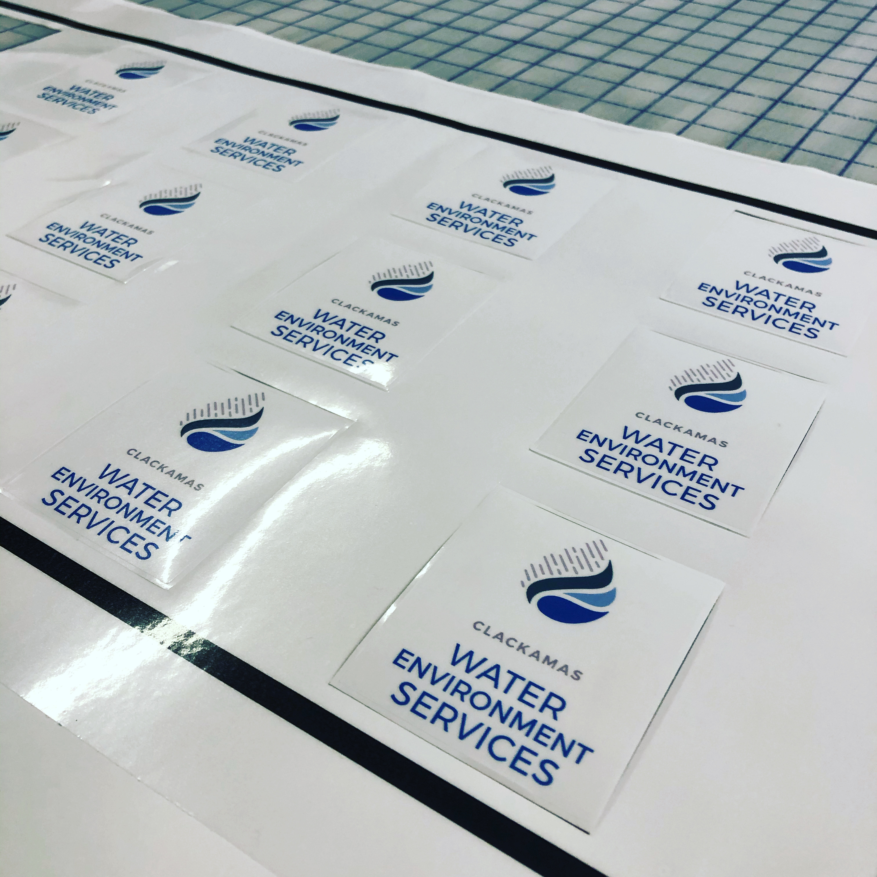 Water Services Sticker