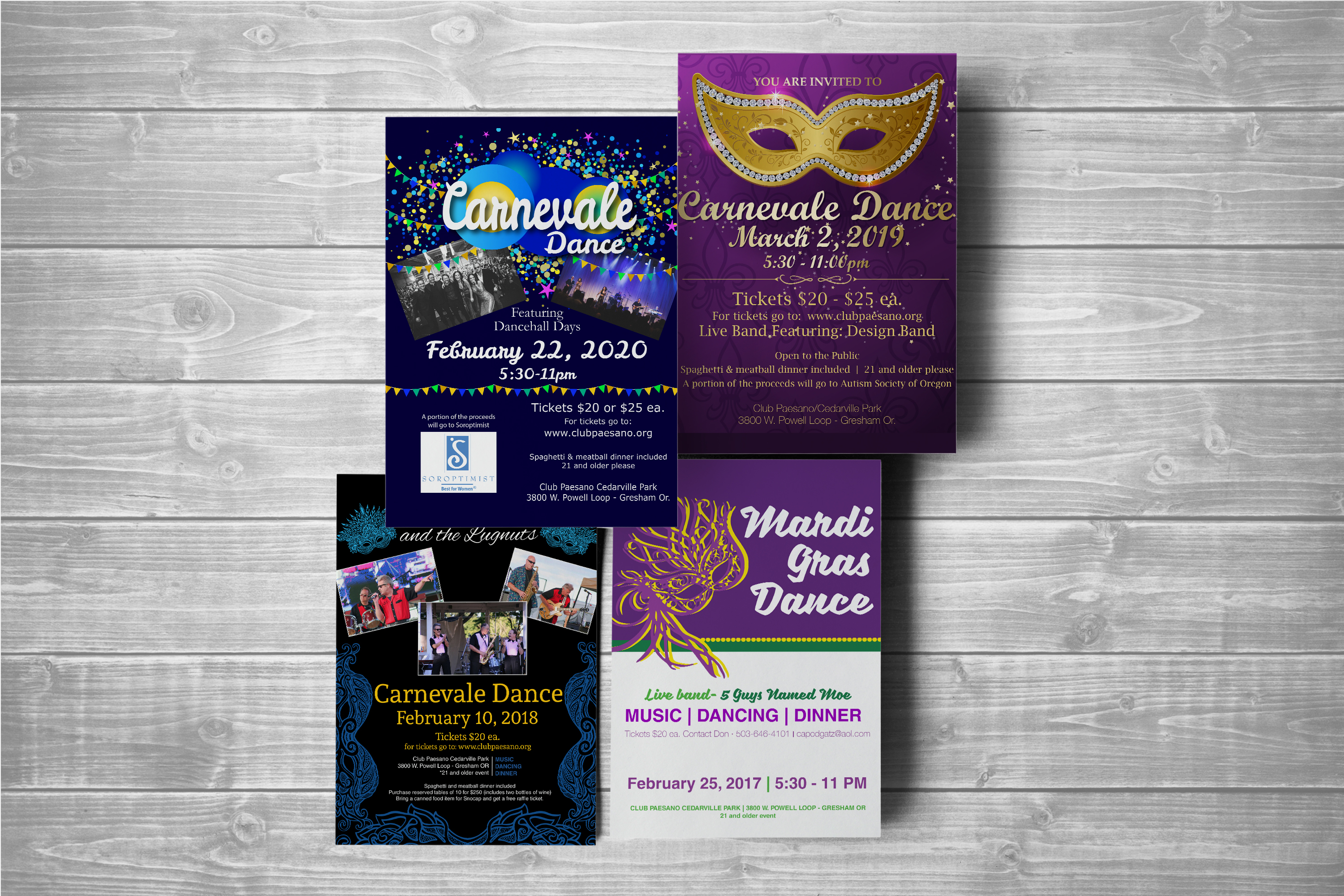 Event Dance Posters