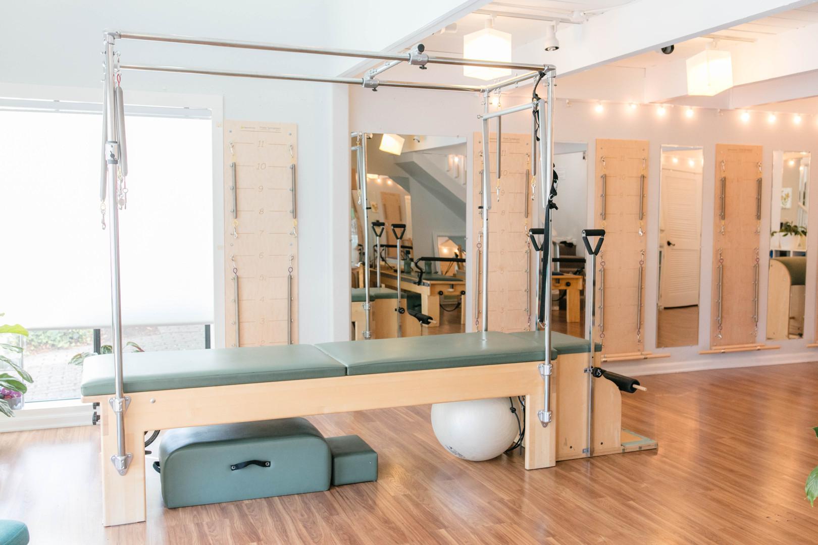 Monarch Pilates studio Santa Cruz
