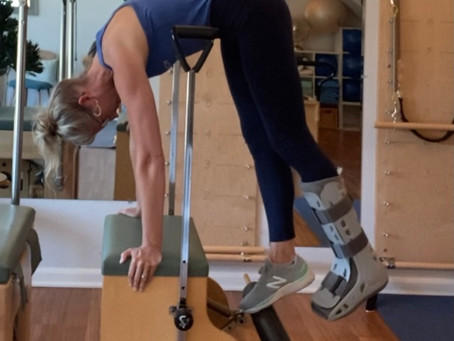 Why Pilates? My post injury reflections