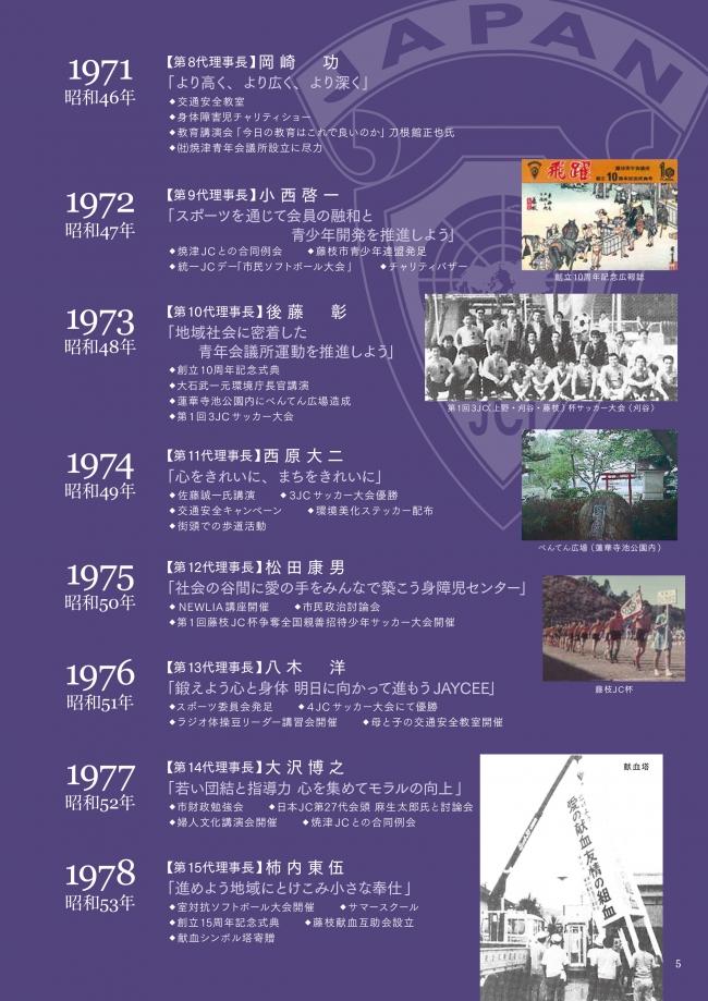 1971年~1978年