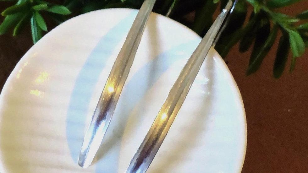 ピアス Long smooth bar Shiny&Mat