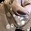 Thumbnail: リネンコットン刺繍ストール ピンクベージュホワイトドット