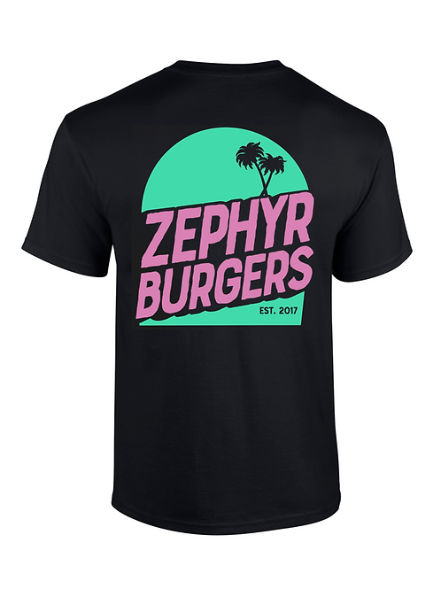 Zephyr T-Shirt - Black