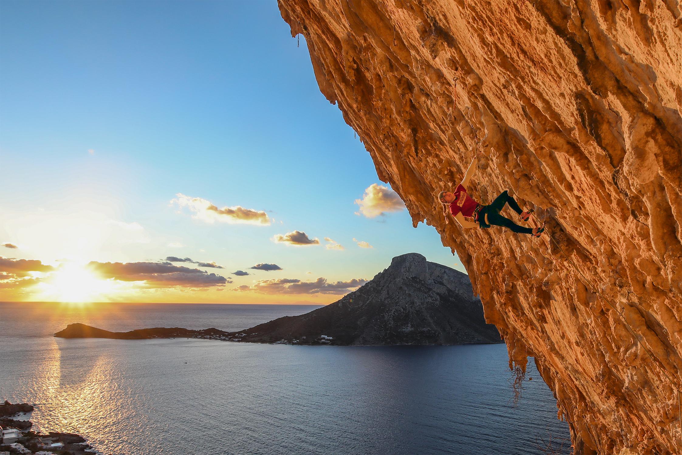 Outdoor Climbing Griechenland