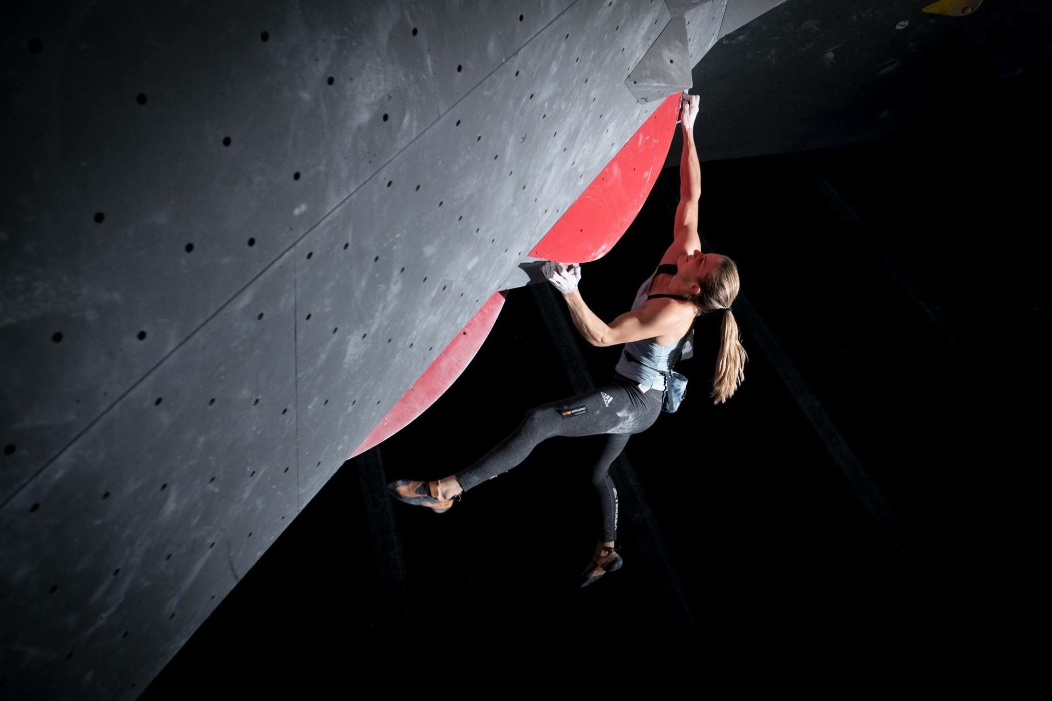 Boulder Wettkampf Petra Klingler