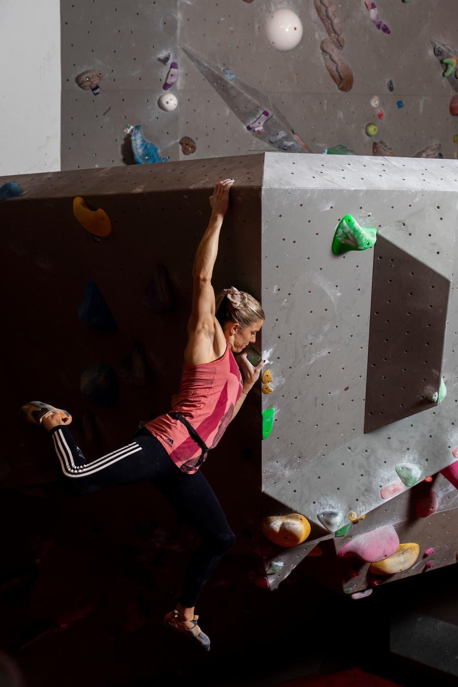 Bouldern Petra Klingler