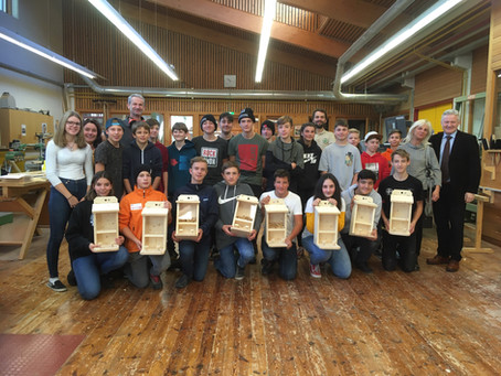 NMS Rattenberg besucht TFBS Holztechnik Absam
