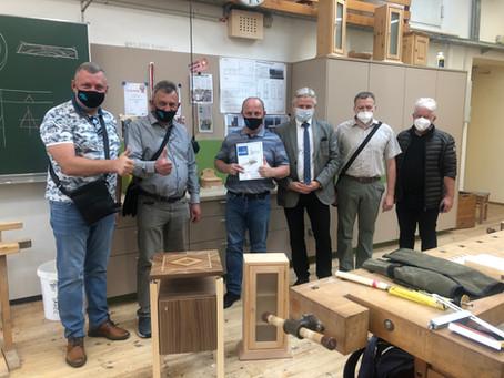 Ukrainische Delegation besucht TFBS Holztechnik Absam!