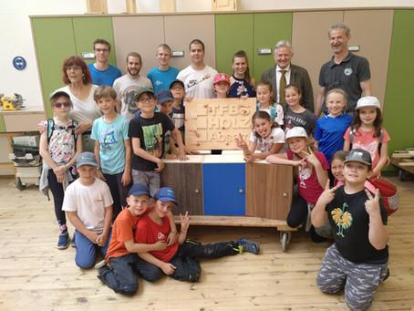 Absamer Volksschüler besuchten TFBS Holztechnik Absam