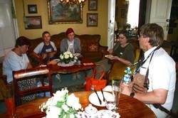 Uosukaisia kahvila Majurskassa