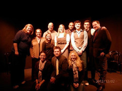 5 One Acts - Cast