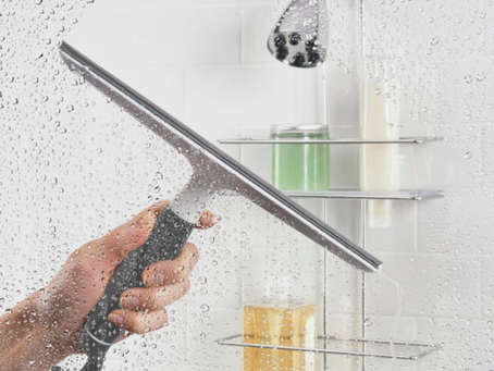 The Squeegee: A Shower's Best Friend