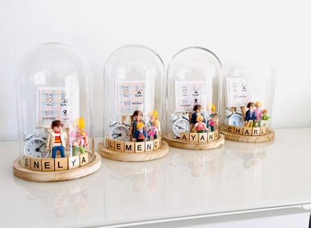 Le cadeau idéal en toute occasion: Les cloches en verre !