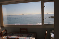The view from the Dining Area