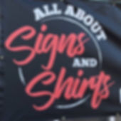 All About Signs & Shirts