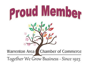 Warrenton Area Chamber of Commerce Proud Member
