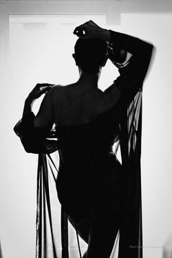 Morning silouhette by Paul Amey