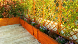 Jardinera terraza