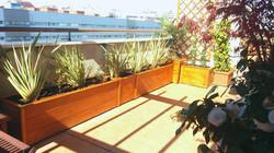 jardineras madrid calle palas
