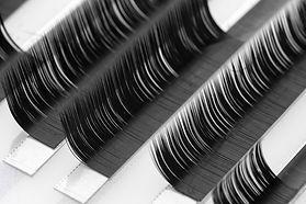 Eyelash extension procedure. Set Lashes